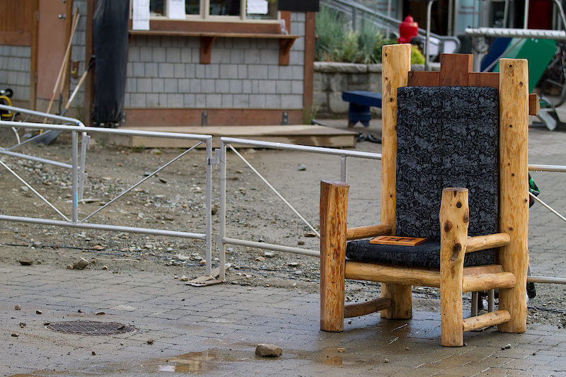Everyone will be fighting to sit in this chair come the end of the day