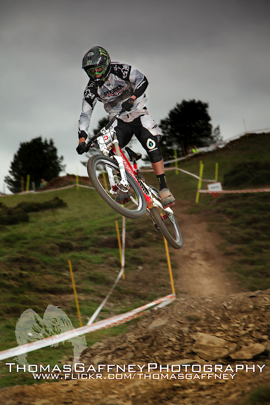 One of my favorite from the weekend. Racing the fourth round of the British Downhill Series at Moelfre. Pics for sale at: thomas.gaffney.89@hotmail.com www.flickr.com/thomasgaffney