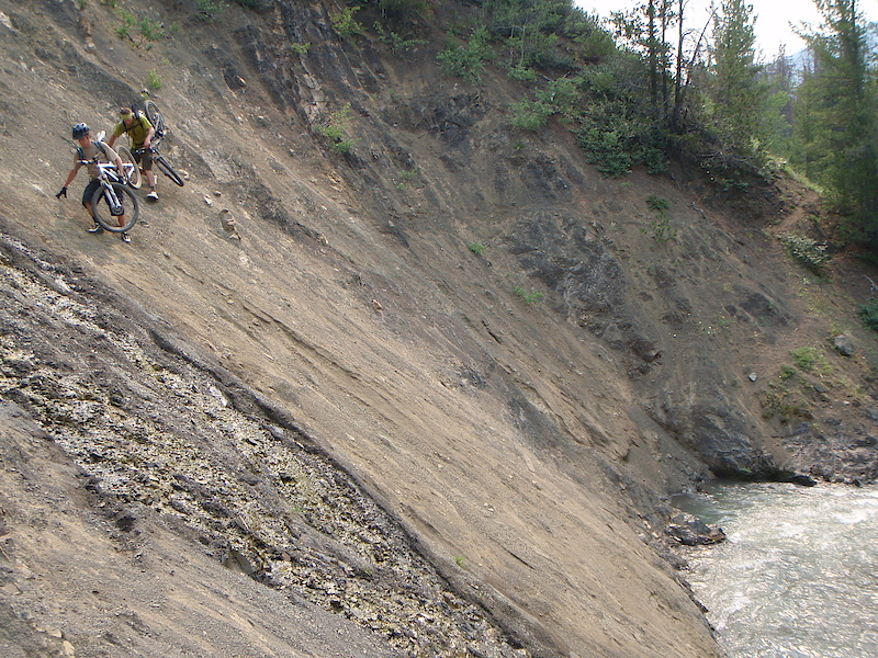 Avoiding creek crossings