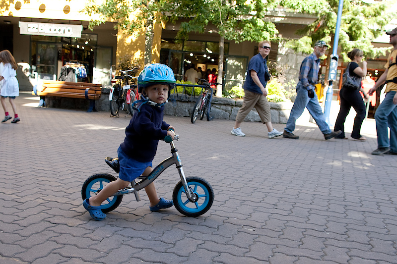 Run bike are the new thing among kids, and I think they are a great idea
