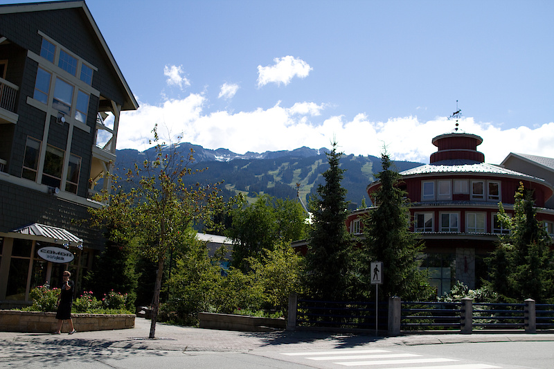 A nice morning in Whistler BC