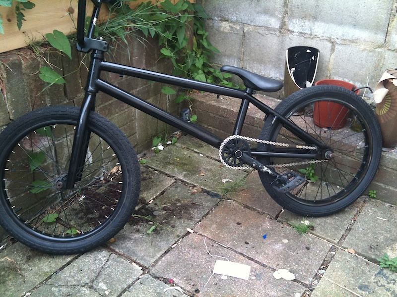 It's a picture of my BMX that's up for swaps with an 24 or 26 bike.