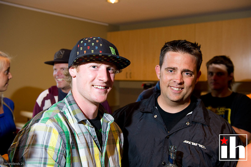 Mike Hopkins and Dustin Brady