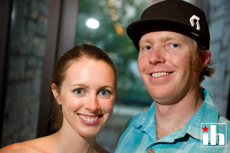 Adrian Montgomery and Vanessa