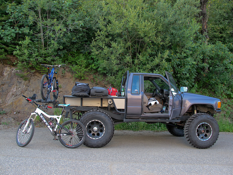 Riding at Sun Peaks Resort.