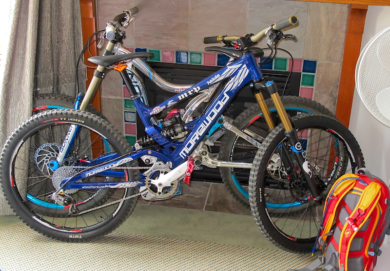 Bikes ready for action.