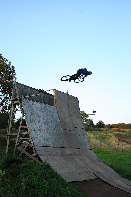 That's how you air a 20ft vert wall.