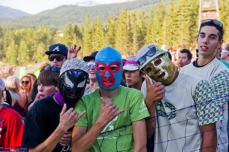 Crankworx brings out fans in droves.
