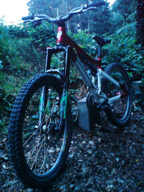 my bike and new fork