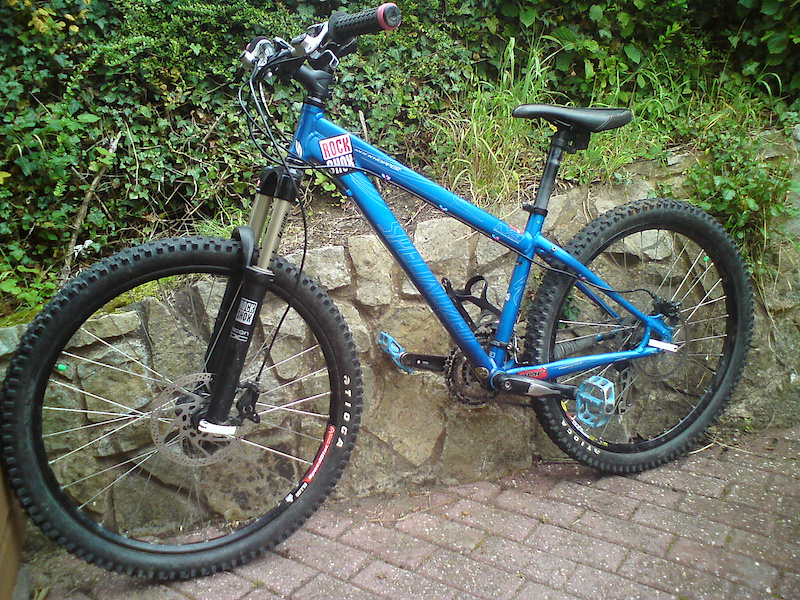 specialized rockhopper, upgraded