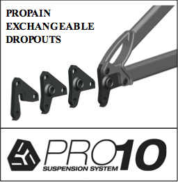 Propain's exchangeable dropout