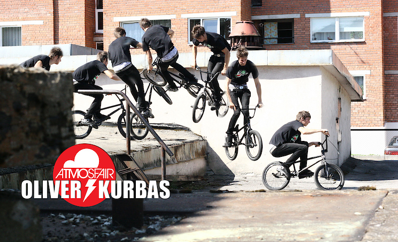 """sequence shot of Oliver Kurbas doing a 180 wallride to 180 out by Dmitri """"demz"""" Shushuyev"""