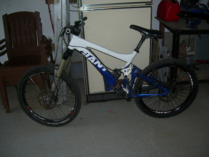 my 08 glory with new fork