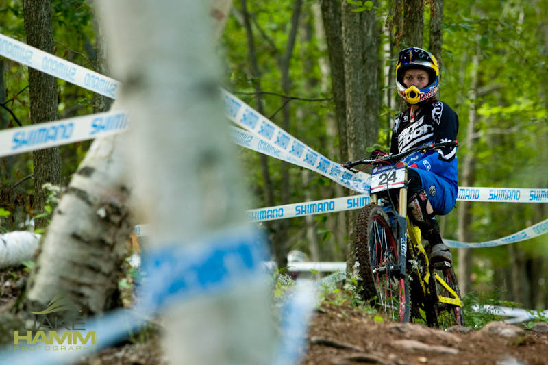 DH Morning practice for first downhill world cup race