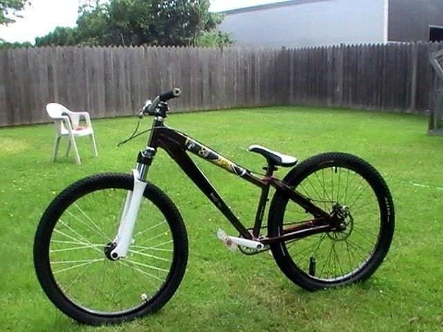 the bike that I ride