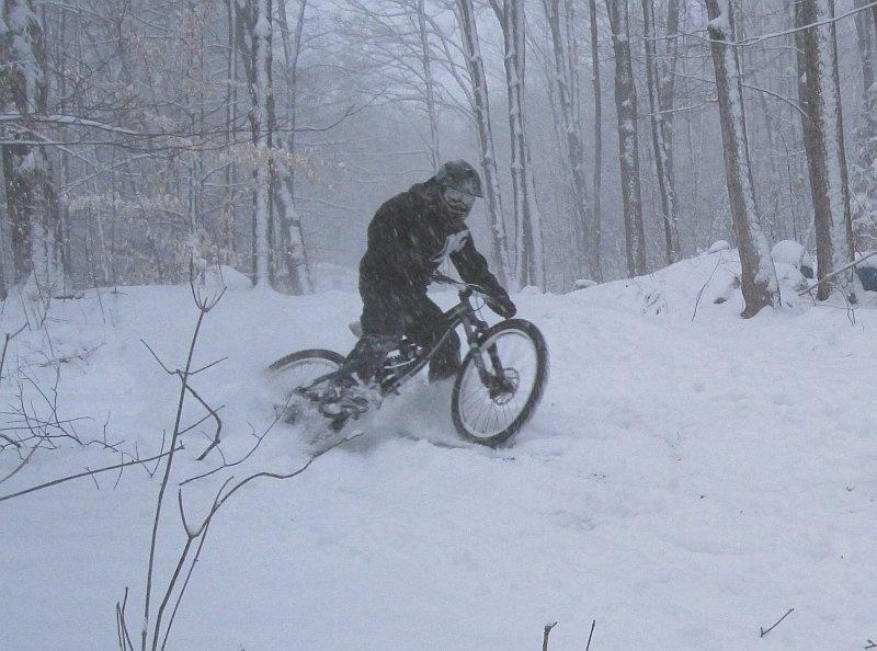 Winter riding...