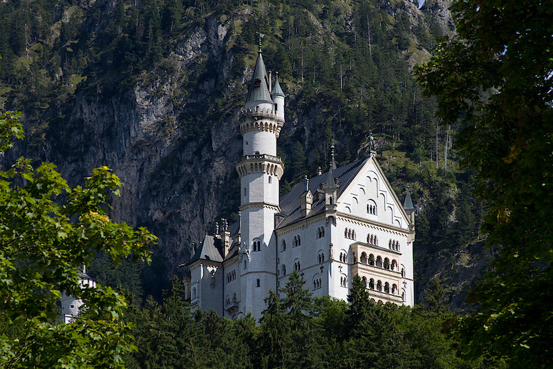 This is where Pinkbike will be staying during our time at Eurobike. I was hoping for something a bit nicer, but this will have to do. I joke! You are looking at Ludwig II of Bavaria's Neuschwanstein castle just outside of Fussen , Germany. If it looks a bit familiar it is because the big castle at Disney Land has been based off of this incredible behemoth. It took nearly twenty years of construction in the late nineteenth century to nearly complete the Neuschwanstein castle, but work was halted with the kings mysterious death shortly after he was declared mentally insane. The castle was opened up to paying sightseers quickly after his passing. A royal murder perhaps? Anyone who knew is no longer alive, but the castle and story make for one easily the most interesting roadside stop that I've ever done.