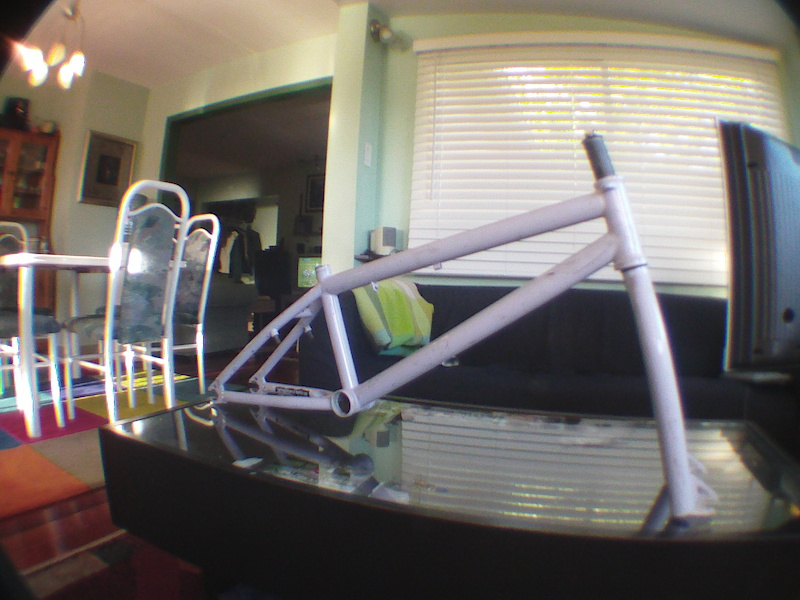 09 WTP Reason frame and fork for sale