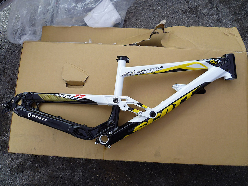 Proto Scott voltage FR used for scott riders only with 200mm rear travel
