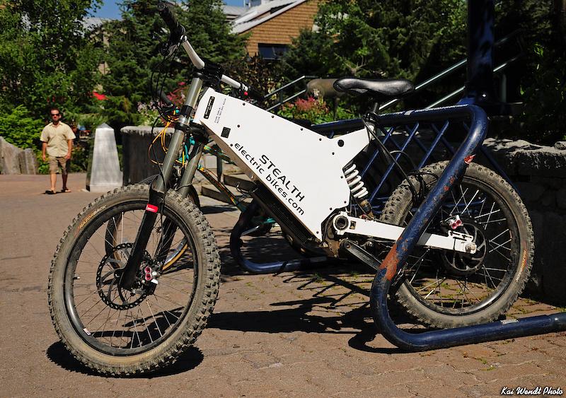"""Stealth Electric bike. 24"""" wheels?"""