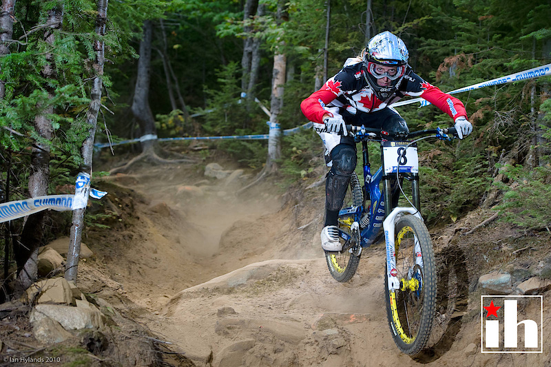 Claire today as a top World Cup female DH racer. -Photo by Ian Hylands