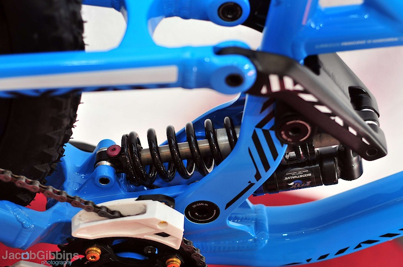 Floating shocks may not be new, but they are increasing in popularity for sure.  Fixed between two moving points of the suspension linkage; the rocker and swingarm, it helps provide increased small bump sensitivity.