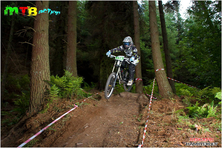the hamsterley downhill time trial