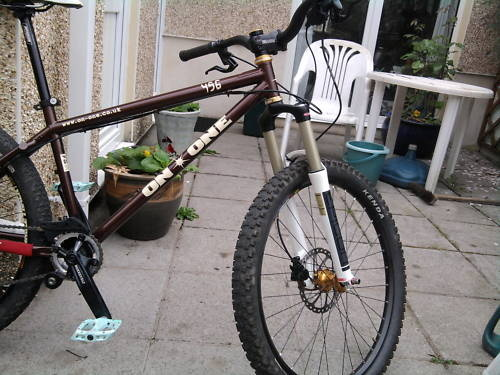 Well nackered spine, one operation already (artificial disc in neck) and more operations on the way I cannot ride much at all. So ive sold the bling ellsworth as it was not getting used and brought this, no biggy if it just sits in the garage, but its there if I can ride! have written a blog about it all 