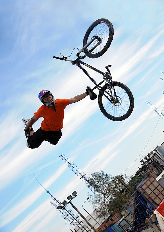 Rider: D.K.; Camera: Alex Tihonov;  Superseat-onehand;  P.S.: No limits, baby :)