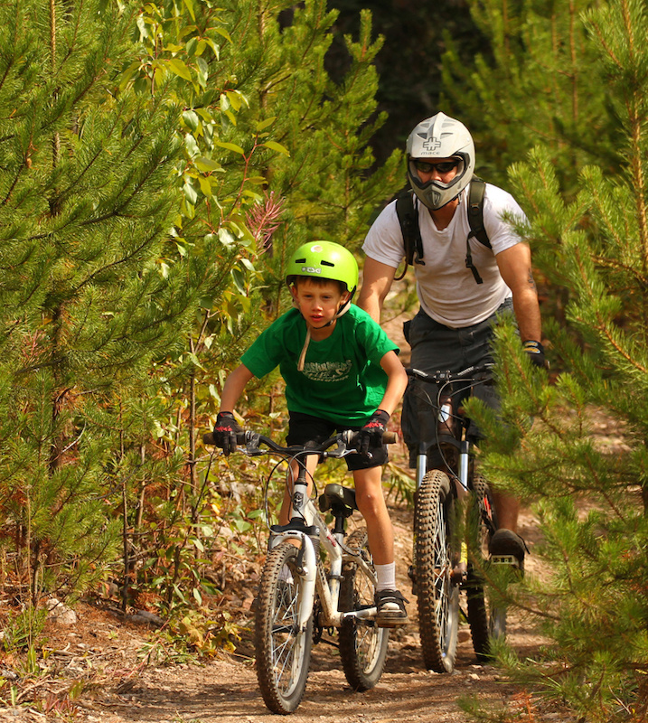 The trails are built to be enjoyed by all ages!