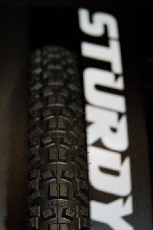 Geax has a host of tires that span pretty much any condition or type of bike, but their Sturdy is designed specifically for more aggressive riders and terrain. If the name itself didn't tip you off, this is no flyweight XC tire, but rather a full sized 2.25