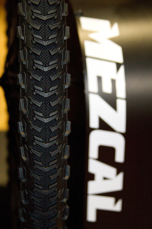 The Mezcal has been a longtime member of Geax's tire line up, but gets some tweaks for 2011, as well as a new wider casing option. While the 1.9