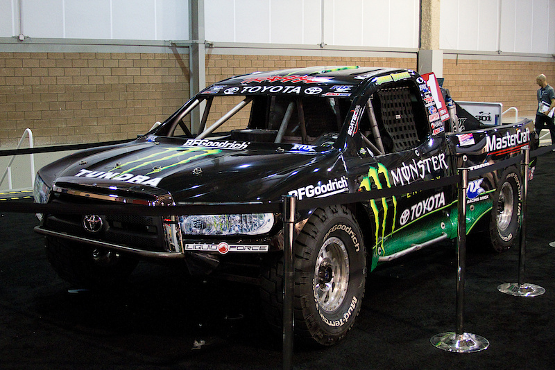 And the truck that made the huck! So sick! It's one of my life long dreams to rip it up in one of these trucks! Anyone else feel my pain?