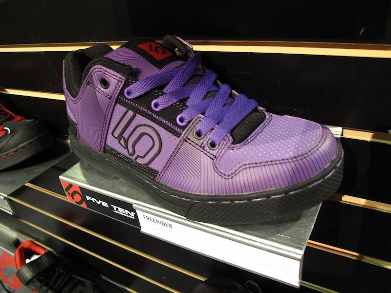 Five Ten's Freerider shoe. Cookie monster edition.