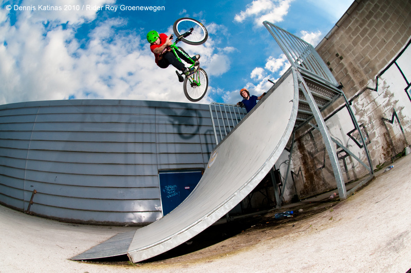 Invert. Shot for Canadian Dirt Imports / Cove Europe.