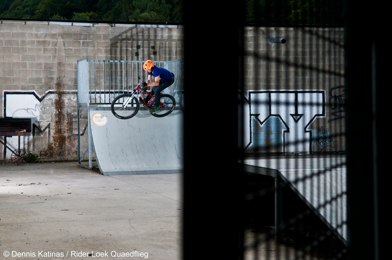 Barspin out of the quarter. Shot for Canadian Dirt Imports / Cove Europe.