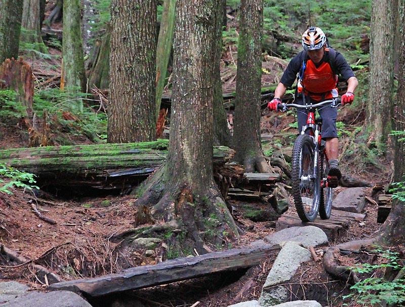 Optional log ride line on Seventh