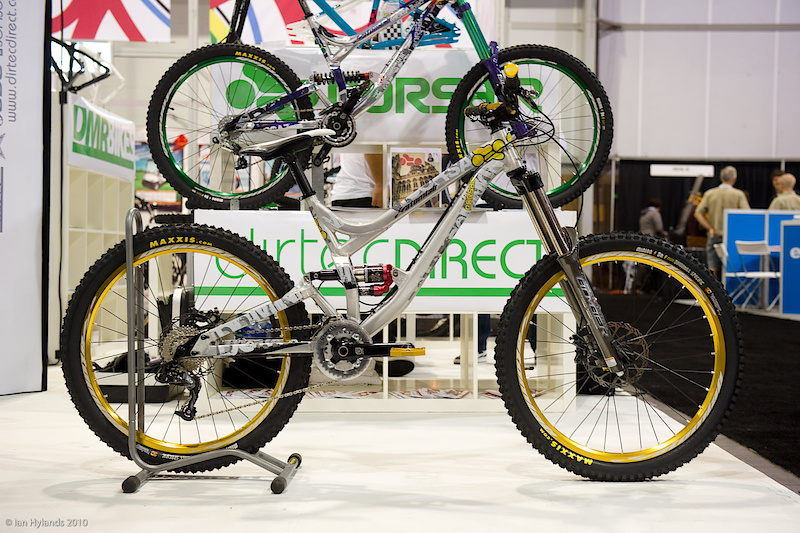 Corsair Dominion set up as a medium travel freeride bike