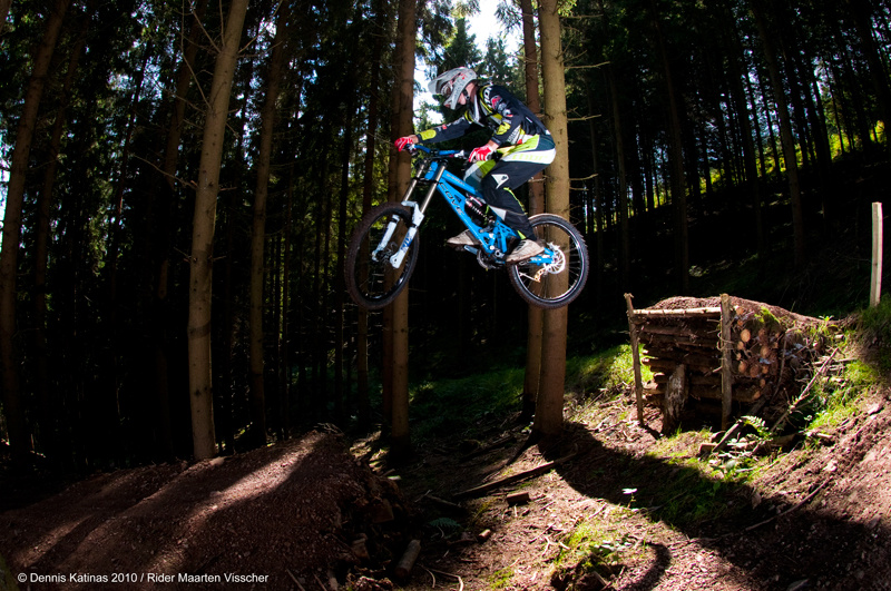 Just flowing the jumps for a Canadian Dirt Imports shoot.