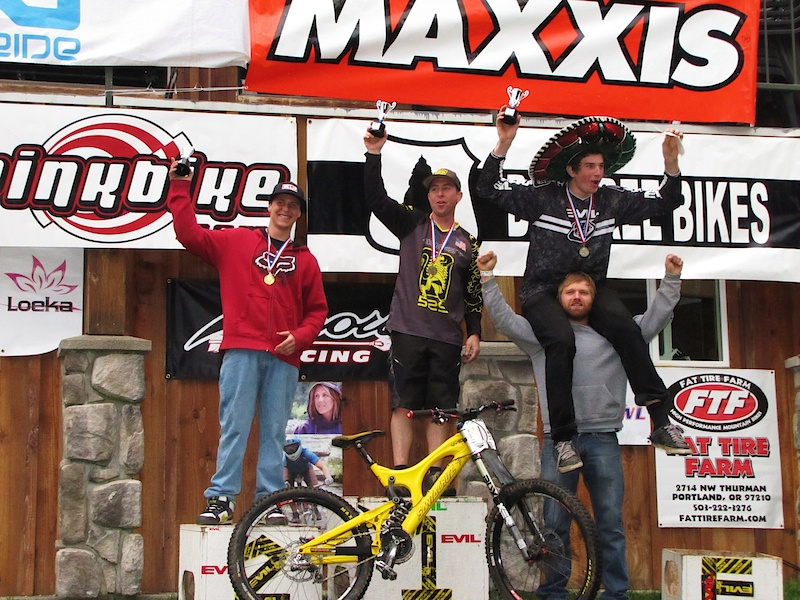 The 2010 Fluidride Overall Pro Mens Podium Photo By Samantha Loney
