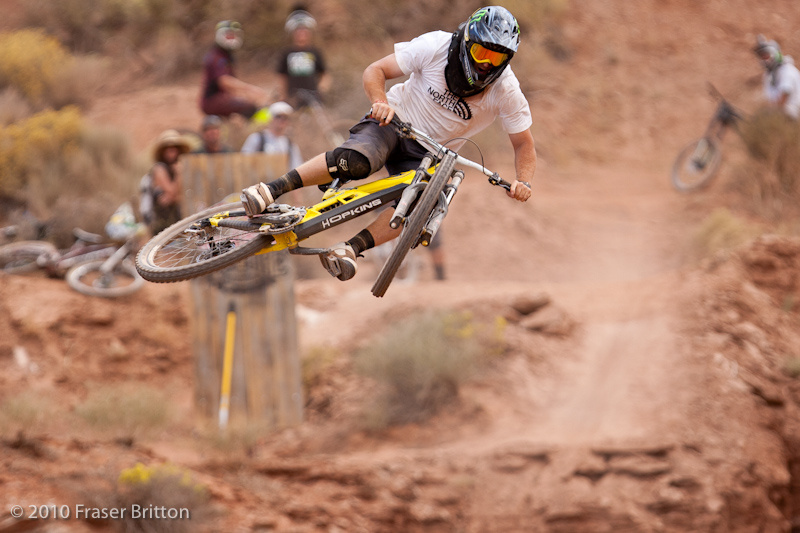 Action from Rampage Evolution 2010