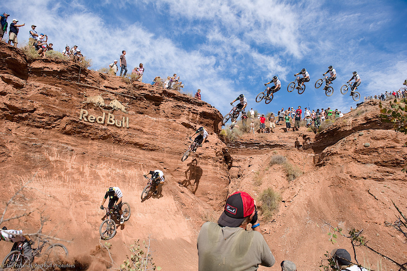 Romo, sick line, gnarly crash...
