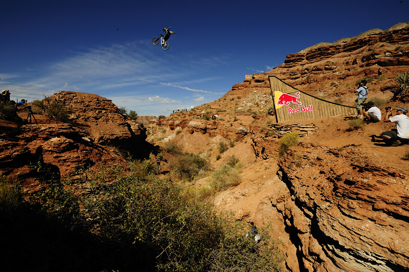 Graham Agassiz, no-hander canyon gap.
