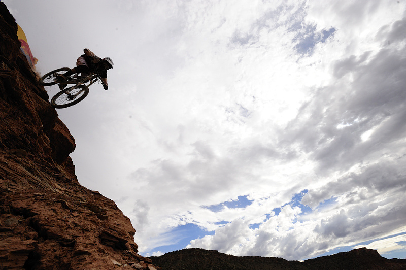 In the end it was Cam Zink's big successful three off the Oakley Sender that firmed up his win and best trick of Red Bull Rampage 2010.