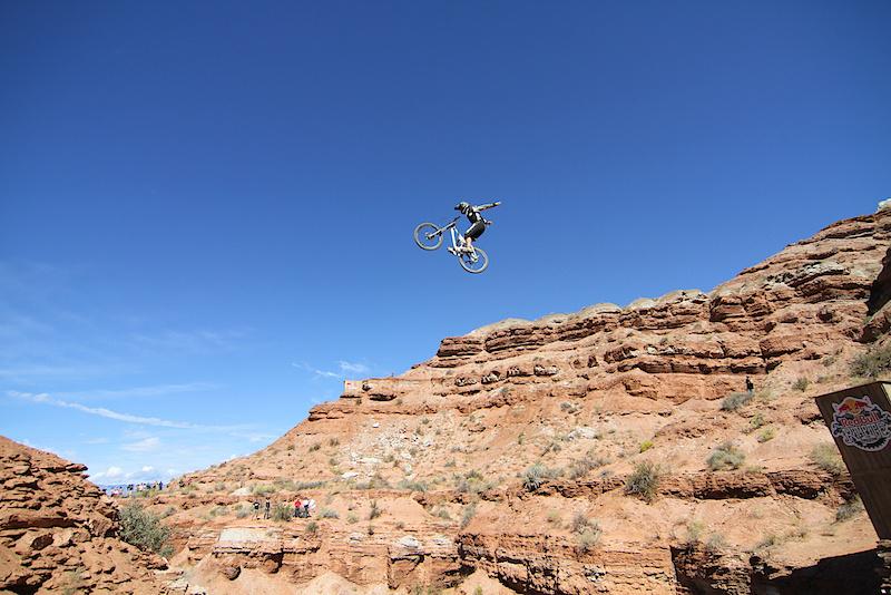Graham Agassiz hits the canyon gap...huge no hander.