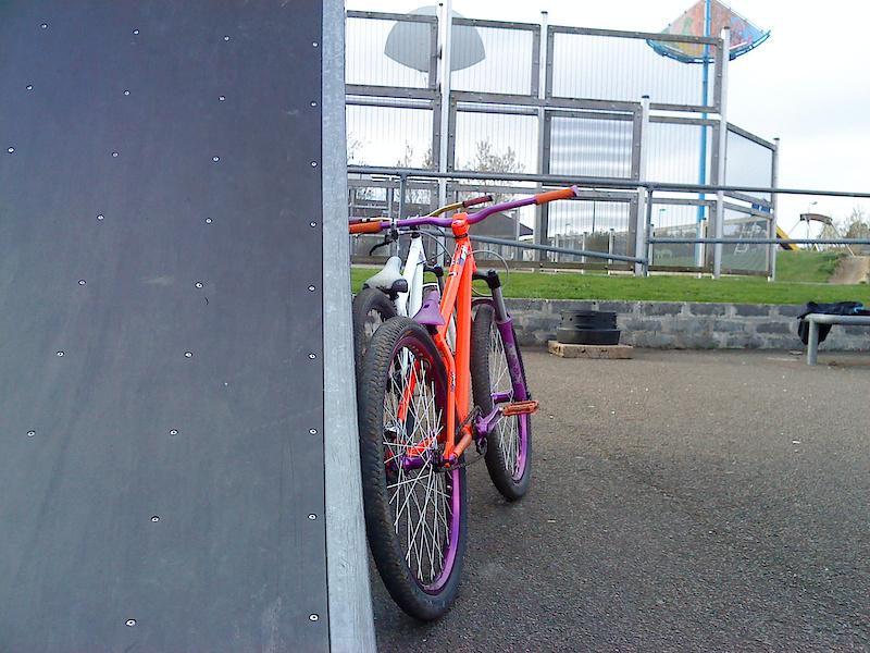 Mine and Shane's bikes