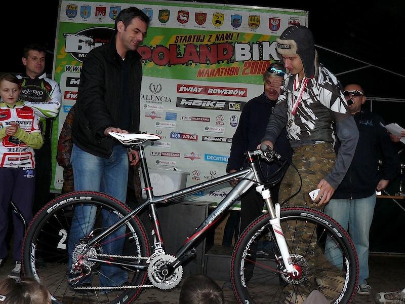 wygrałem kolejny rower