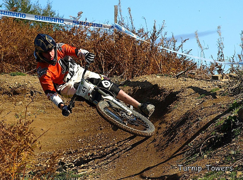 Shooting through the berm