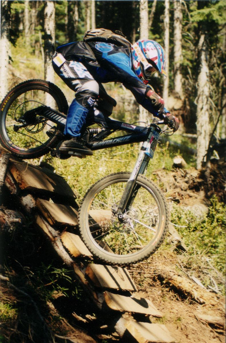 Ben racing at Sun Peaks