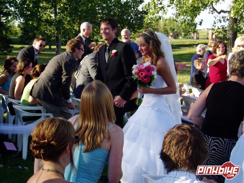 Wedding at Spruce meadows.